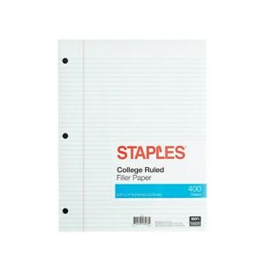 College ruled paper for sale