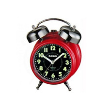 Casio TQ362-4A Retro Red Desk Top Bell Snooze Alarm Quartz Clock