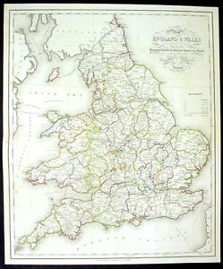 1831-Lewis-Large-Antique-Map-Canals-Railways-of-England