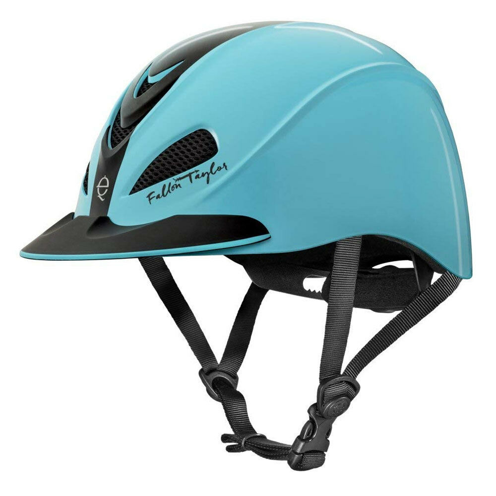 04-404 Troxel Fallon Taylor Turquoise NEW Racer Riding Helmet NEW Turquoise 812cd1