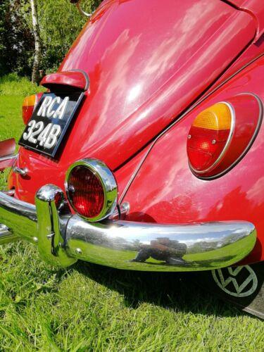 """5/"""" STOP lumière brouillard lumière rouge feu de brouillard pour Porsche VW Vintage Rally Chrome AAC259"""