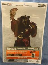 """Champion 46084 VisiColor Zombie Targets 50 Pack Gopher Gore 18/"""" x 12/""""-WW ship"""