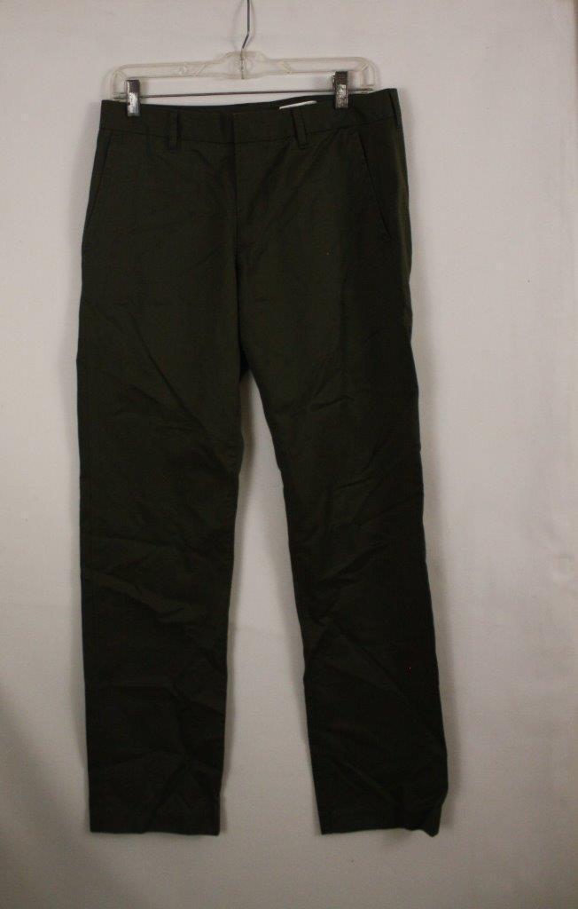 Bonobos Weekday Warrior Dress Pants Straight Fit Size 30X30 Saturday Evergreens