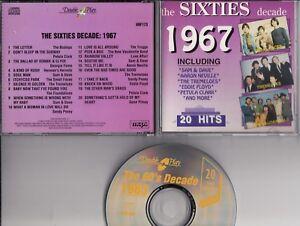 SIXTIES DECADE 1967 CD Sam & Dave Tremeloes Small Faces Petula Clark etc