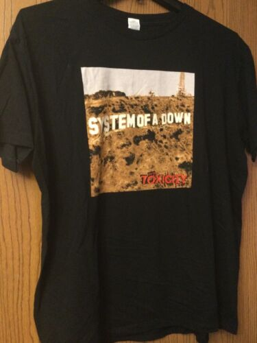 """System Of A Down - """"Toxicity""""   Black Shirt.  XL.… - image 1"""