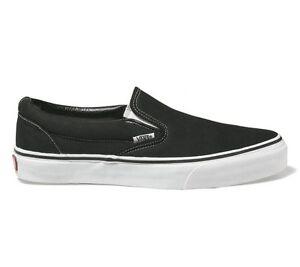 Pflichtbewusst Vans - Classic Slip-on - Schwarz - Schuhe Sneaker - Neu - Eyeblk - Gr.: 39 - 48 Harmonische Farben