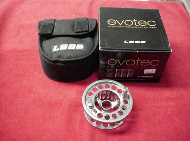 Loop Fly Reel Evotec MODEL  G4 3-5 Extra Spool GREAT NEW  100% authentic