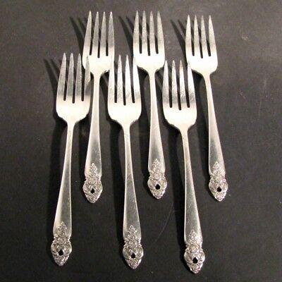 Dessert Fork S Distinction silverplate  prestige Salad