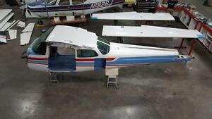 Details about 172N Cessna Fuselage Assy (W/ Bill Of Sale & Log Books)