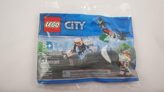 LEGO City 30362 Sky Police Jetpack Polybag Brand New/Sealed