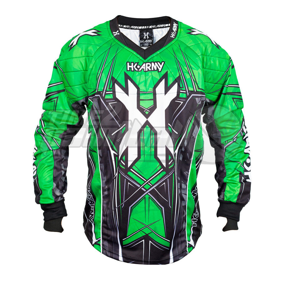 HK Army HSTL Line Jersey - Neon Green - 3XL FREE SHIPPING Paintball