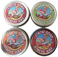 Stache Bomb Stache Wax Variety Pack- Moustache Wax from Maine