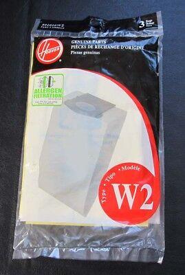 Hoover Type W2 Vacuum Bags Genuine 3 401010w2 Allergen Ebay