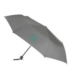 New-Calvin-Klein-Grey-Foldable-Umbrella