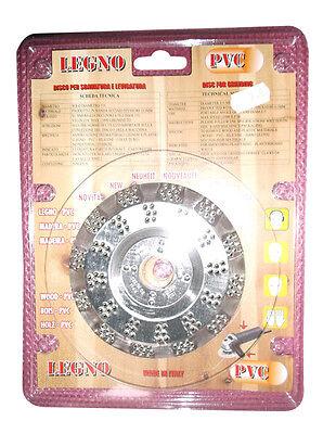DISCO ABRASIVO SBAVO LEGNO PVC 115x0,5MM LEVIGATURA PROFESSIONALE SMERIGLIATRICE