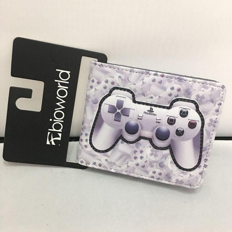 Games Playstation Purse Short Wallet Kids Boy Girl Card Money Holder Coin Pocket