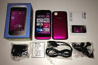 Brand Blu Hero Jr S250 Pink Unlocked Smartphone Dual Sim Easy To Use