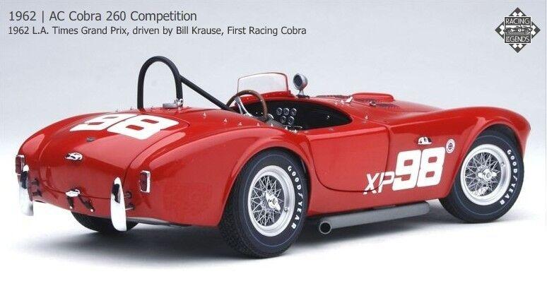Exoto 1/18 1962 AC Cobra 260 Competition First Racing Cobra 1962 L.A. RLG18125