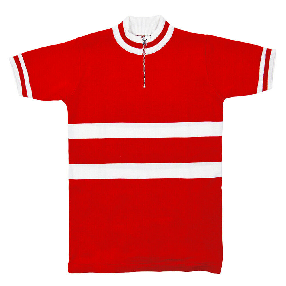 Denmark shirt at Worlds Cycling Vintage Cycle Bike Jersey Made in