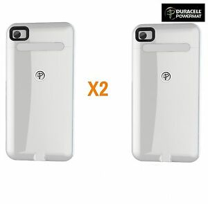 separation shoes f55f2 d1cbc Details about 2X White Duracell Powermat WIRELESS Charging Cases for iPHONE  4/4S CASE ONLY