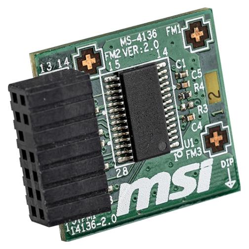 MSI TPM 2.0 Module With LPC Interface Ms-4136