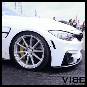 19 Vertini Rf11 Silver Forged Concave Wheels Rims Fits Bmw E89 Z4