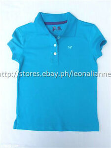 56-OFF-PS-Aeropostale-Girls-039-Solid-Pique-Polo-Woodlawn-Size-4-Bnew-US-15