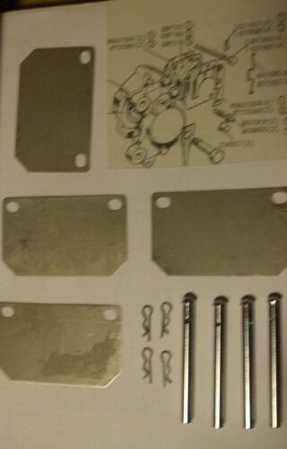 PINS /& SHIMS 1964- Austin Healey 3000  FRONT BRAKE PAD PADS FITTING KIT