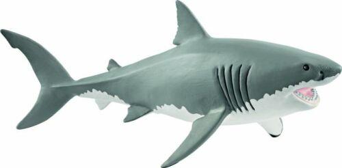 SCHLEICH grande squalo bianco personaggio personaggio del gioco Sammelfigur raccogliere animali