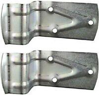 (2) Pack National Mfg. N100-834 Sliding Barn Door Bumper / Door Stop