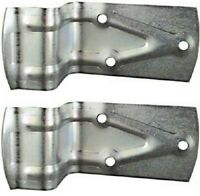 (2) Pack National Mfg. N100-834 Sliding Barn Door Bumper / Door Stop