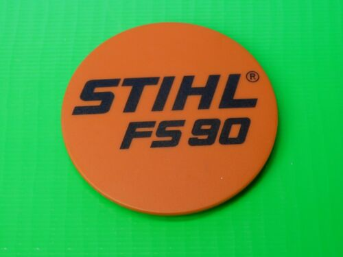 OEM STIHL NAME TAG MODEL PLATE FS90 TRIMMER # 4180 967 1528