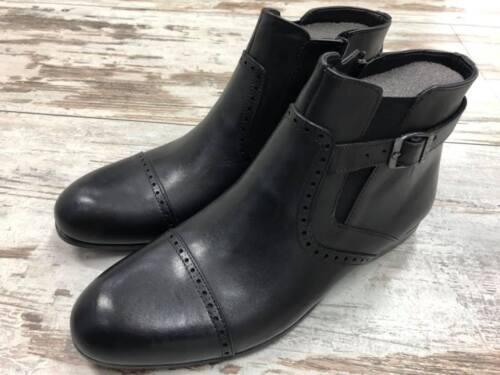 Sohle Herrenschuhe Flache Stiefel Reißverschluss Stiefelette Chelsea Boots Leder 9eDH2IbWYE