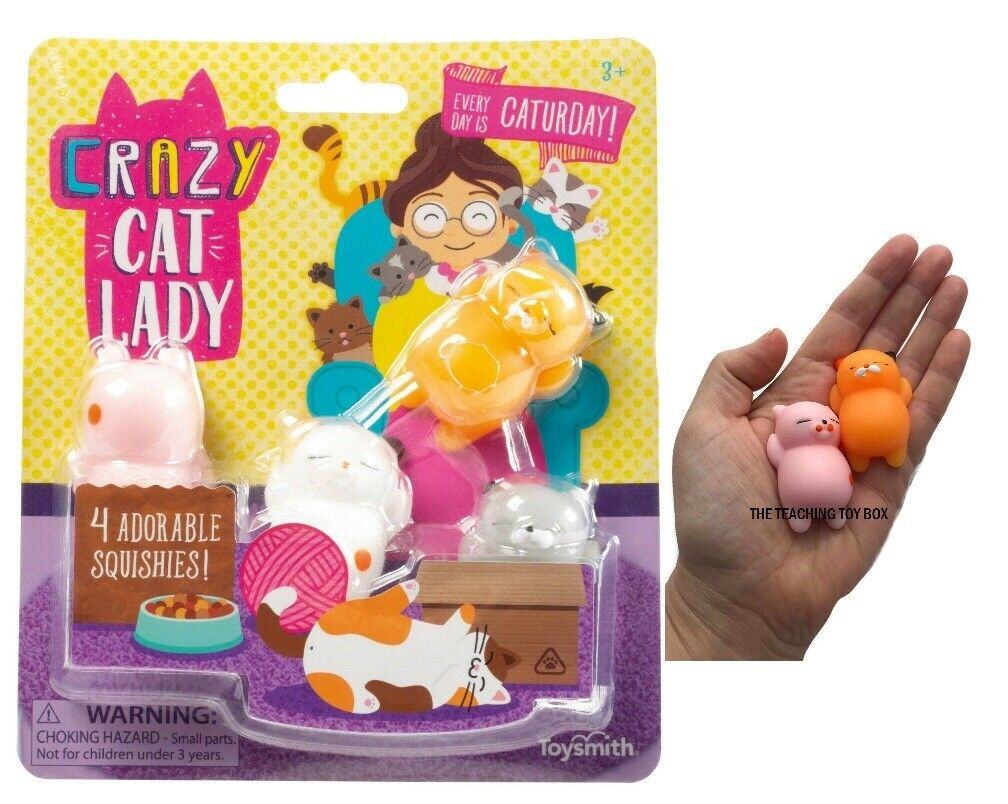 Crazy Cat Lady Starter Set Squishy Belly Cats Set