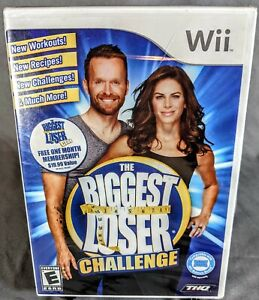 Wii Fit Plus + The Biggest Loser Challenge Nintendo Wii Game Lot Factory Sealed