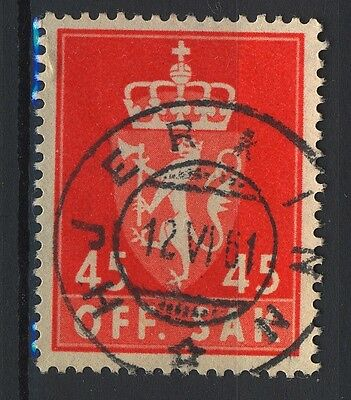 Romantic Norway 1955-68 T85 Son Hjerkinn 12.6.1961 op-grade 5 Warm And Windproof