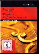 DVD PERGOLESI: LO FRATE 'NNAMORATO RICCARDO Nuccia Focile Corbelli MUTI La Scala