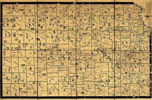 OLD IRELAND IRISH MAP Genealogy Orourke Oryan Osullivan Otoole Petits SURNAMES