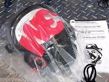3M 7800S Respirator / Gas Mask - Silicone Full Facepiece SMALL - NEW / NIB