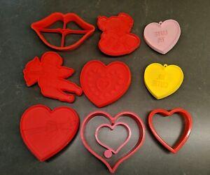 Vintage Hallmark Valentine Heart Hi Cutie Cookie Cutter Valentine/'s Day Love Romance