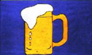 BEER - Flag  5ft x 3ft
