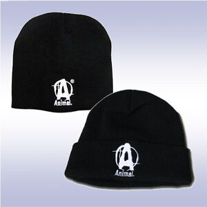 7ce0f9083d389 Image is loading UNIVERSAL-NUTRITION-ANIMAL-BLACK-KNIT-CAPS-BEANIE-amp-