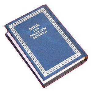 siddur-Jewish-Prayer-Book-Hebrew-Spanish-israel-5x3-034-Navy-blue-cover