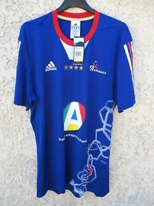 Détails sur Maillot handball EQUIPE de FRANCE Jeux Olympique 2012 ADIDAS shirt XXL à 40%