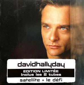 David Hallyday CD Single Satellite + Le Défi - Limited Edition - France (EX/VG)