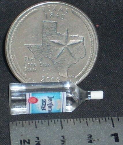 Dollhouse Miniature Jose Cuervo Tequila 1:12 Margarita Alcohol Bar Drink 53092C