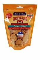 Smokehouse Pet Products-Usa Prime Chips Dog Treats Resealable Bag- Chicken & Beef 4 Ounce Pets