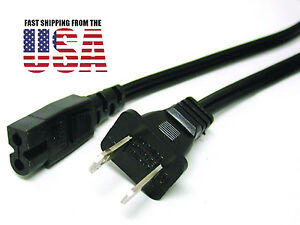 AC Power Cord Cable For Numark MixDeck Express CD Player MP3 USB DJ Controller