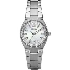 FOSSIL WOMEN'S 28MM STEEL BRACELET & CASE QUARTZ MOP DIAL ANALOG WATCH AM4141