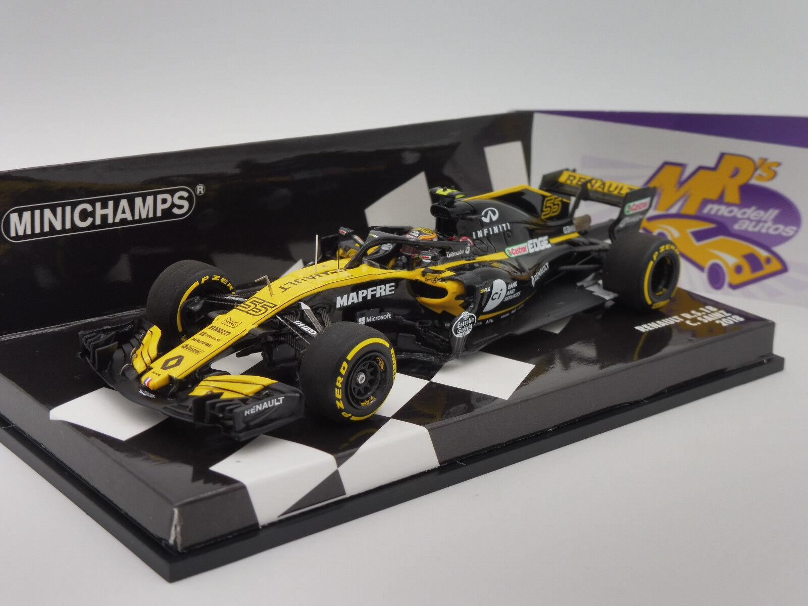 Minichamps 417180055 - Renault Sport R.S.18 Formel 1 2018   C. Saniz Jr.   1 43